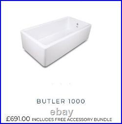 3 Foot Huge Single Bowl Belfast Butler Sink Shaws Of Darwen New RRP £691