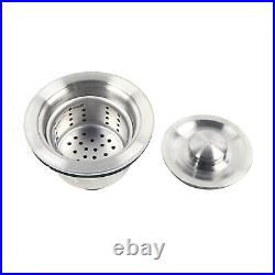 50X50 cm Commercial Catering Stainless Steel Sink Kitchen Wash Table Single Bowl