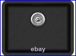585mm x 460mm Single Bowl Undermount/Inset/Flushmount Composite Sink CS003
