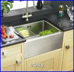 Astracast Belfast W198523 Butler Stainless Steel Large Single Bowl Kitchen Sink