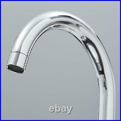 Astracast Sierra 1.0 Bowl White Kitchen Sink & KT2 Chrome Swan Neck Mixer Tap