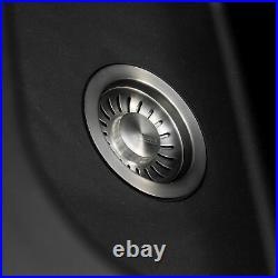 Black Franke Single Bowl Reversible Composite Kitchen Sink And Tap Pack Bundle