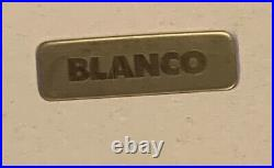 Blanco Large Bowl White Resin Kitchen Sink Right Hand Drainer Single Tap Hole