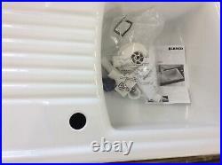 Blanco Setura 5s Single Bowl White Ceramic Inset Sink, Reversible Ref Bl520520