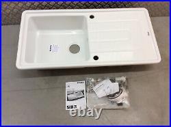 Blanco Tolon Xl6s Single Bowl White Ceramic Inset Sink, Reversable Ref Bl520323