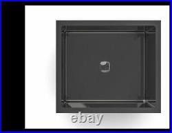 Burnished gunmetal Black stainless steel kitchen single 510mm sink pantry trough