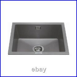 CDA KMG24GR Composite Single Bowl Sink Graphite