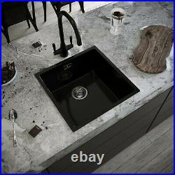 Comite Kitchen Sink Single Basin 1 Deep Bowl Colours Undermount / Insert Wastes