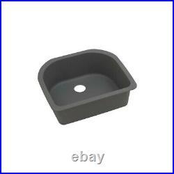 Elkay Quartz Classic Undermount Composite 25 in. Single Bowl Kitchen Sink