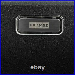 Franke Aveta 1.0 Bowl Black Tectonite Kitchen Sink & Reginox Brooklyn Mixer Tap