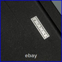 Franke Gemini 1.0 Bowl Black Reversible Kitchen Sink & KT6BL Single Lever Tap