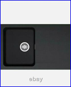 Franke Single Bowl Kitchen Sink, Tectonite Orion OID 611 black new