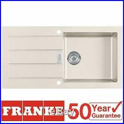 Franke Sirius SID611MA 1.0 Bowl Cream Tectonite Reversible Kitchen Sink & Waste