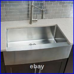 Hahn 47001 Chef Series Single Bowl Farmhouse Kitchen Sink