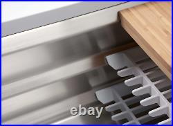 KOHLER 2365-NA Prolific 29 inch Workstation Stainless Single Bowl Kitchen Sink