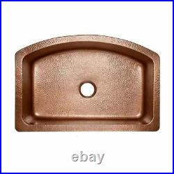 Kitchen Sink Farmhouse Kitchen Sink Single Bowl Antique Hammered Copper