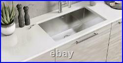 Luxury Stainless Steel Undermount Rectangle Kitchen Sink Single Bowl 725 x 450mm
