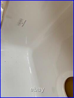 New Villeroy & Boch Franke Kitchen sink VBK 110 50 single bowl undermount white