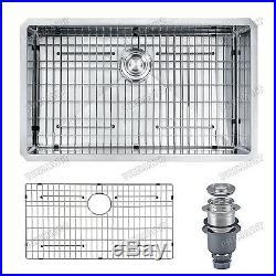 Primart 30 Inch 16 Gauge Stainless Steel Undermount Single Bowl Kitchen sinks