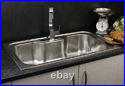 Reginox Jumbo Inset Stainless Steel Sink Single Bowl with Waste Included