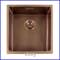 Reginox Miami Single Bowl Stainless Steel Copper Kitchen Sink