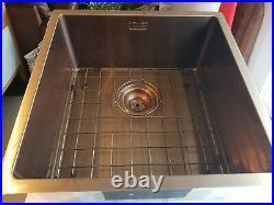 Reginox Miami Single Bowl Stainless Steel Copper Kitchen Sink & Tap