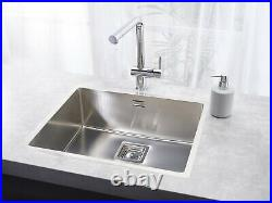 Reginox Texas Single Bowl Kitchen Sink Integrated 50 x 40 Stainless Steel Waste