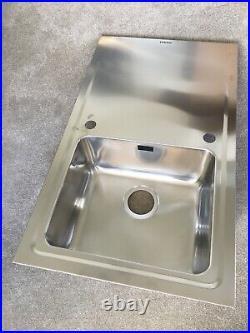 Single Bowl Innova Stainless Steel Kitchen Sink, Drainer & Waste