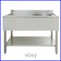 Sink Stainless Steel Commercial Catering Kitchen Single Bowl 1.0 Unit LH A5152