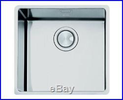 Smeg Mira 1.0 Single Bowl Undermount Sink Stainless Steel VSTR50-2
