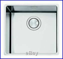 Smeg Mira (VSTR50-2) 1.0 Single Bowl Stainless Steel Undermount Sink Brand New