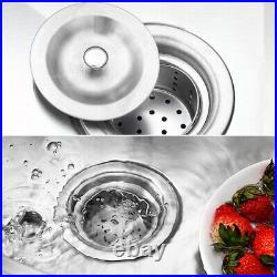 Stainless Steel Catering Sink Commercial Kitchen Wash BASIN SINKS Table & Waste