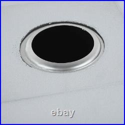 Stainless Steel Kitchen Sink Undermount Sinks Single Bowl Basin for Washing Dish