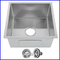 Stainless Steel Kitchen Undermount Sink Catering Single Bowl Drainer