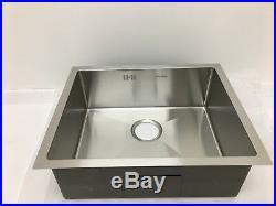 Undermount Kitchen Sink Single Bowl, High Quality, 1.2mm Thick, 540x440x200mm