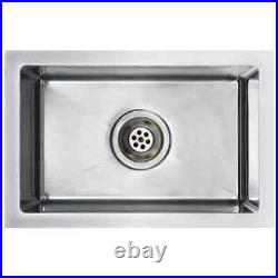 Undermount Kitchen Sink Single Bowl, High Quality, 3mm Thick, Stainless Steel