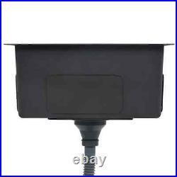 Undermount Kitchen Sink Waste Strainer Single Bowl Stainless Steel 3 mm Thick