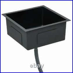 Undermount Kitchen Sink Waste Strainer Single Bowl Stainless Steel 3mm Thick UK
