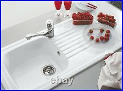 Villeroy And Boch Medici Single Bowl Sink White 2nd19270