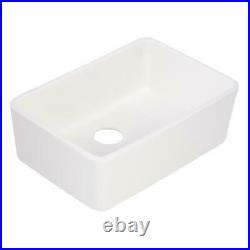 Whitehaus Basichaus Farmhaus Apron Front Fireclay 24 Single Bowl kitchen Sink